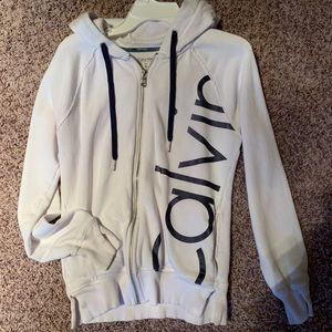 Calvin Klein Zip-up sweatshirt